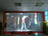 Sviluppando la visualizzazione di LED trasparente di vetro, vedere attraverso la visualizzazione di LED flessibile