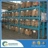Envase galvanizado plegable y amontonable del acoplamiento de alambre para el almacenaje del almacén