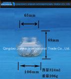 食糧記憶(JH-2307)のためのEmbosseedパターンガラス製品の込み合いの瓶