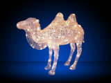 Ramadan LEDのラクダ3Dのモチーフライト装飾のギフトライト