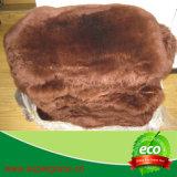 Coperta lunga di lusso della pelle di pecora delle lane