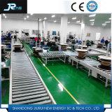 Trasportatore a rulli motorizzato certificato industriale del Ce per macchinario pesante