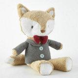 귀여운 연약한 동물은 관례에 의하여 채워진 견면 벨벳 Fox 장난감을