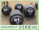 500kg Gewichten van de Schaal van de Vrachtwagen van de Gewichten van de Lading van de Gewichten van de Test van het Gietijzer de Testende