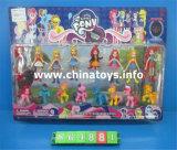 """新型のおもちゃの女の子「sおもちゃプラスチック5.75 """"の人形はもてあそぶ(864889)"""