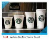 Papel recubierto PE de venta caliente para tazas de papel desechables
