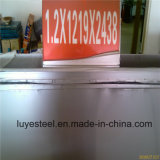 Plaque en acier laminée à froid de tôle d'acier de 304 Stainles