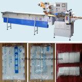 Omron Servobewegungsgaze-Verband-automatische Fluss-Verpackungs-Maschine