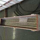 El cinc plateado + PA12 cubrió el tubo doble de Bundy de la pared de 12mm*1m m