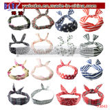 Presente de Natal Rabbit Bow Headband Hair Band Headwear (P3049)
