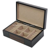 Organizzatore di legno del contenitore di monili di caso di corsa del cameriere personale