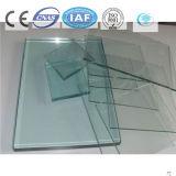 Color verde/vidrio de flotador teñido/claro para el edificio/la decoración