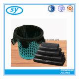 Bolso de basura plástico negro para el uso público