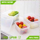 Capienza diConservazione di plastica del frigorifero della casella del commestibile dell'acetato del contenitore di alimento la multi risparmia lo spazio per la cucina BPA libera