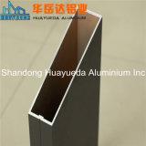 Aluminium de profil d'extrusion d'alliage d'aluminium de transformation plus ultérieure pour la porte et le guichet