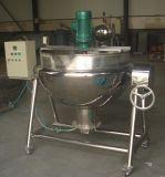 Mélangeur d'inclinaison électrique de vapeur de gaz faisant cuire la bouilloire revêtue de matériel