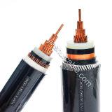 Изолированный XLPE силовой кабель оболочки PVC
