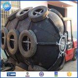 Tipo quente pára-choques pequenos de borracha pneumáticos de Yokohama da venda para barcos