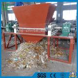축이 둘 있는 살아있는 쓰레기 또는 낭비 플라스틱 재생하거나 거품 또는 나무 또는 타이어 또는 부엌 폐기물 또는 도시 낭비 또는 의학 폐기물 쇄석기 슈레더