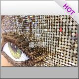 Panneau de mur en plastique décoratif de visuels renversants faciles à utiliser