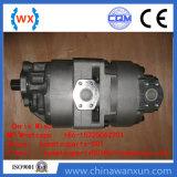 Carro de vaciado hidráulico HD785-7 de la bomba de engranaje de la fábrica 705-52-42220