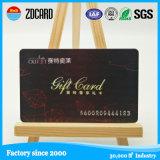 Cartão de PVC com custo efetivo de série amarelo e preto