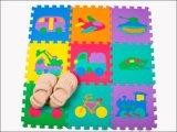 アルファベットの赤ん坊の演劇のエヴァの環境に優しいマット