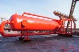 Сепаратор газа грязи в системе бурового раствора добра нефтянного месторождения