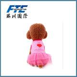 El animal doméstico del algodón del diseño de la calidad arropa direccionamiento de princesa Pet