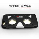iPhone를 위한 3D Vr 유리 전화 상자를 접히는 가상 현실 5 6 아BS + PC Vr 이동 전화 상자