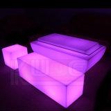 Impermeable Muebles LED iluminado Bares cubo y Snakes