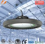 Luz al aire libre industrial de la bahía del UFO LED de la UL 100W del precio de fábrica IP65 alta