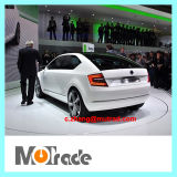 Plataforma de giro da plataforma giratória da mostra de carro da placa do coletor automático do sedan SUV