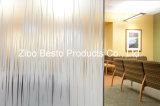 Vidrio estampado / representado / laminado / grabado para ventanas / vitrinas / oficina / partición de tiendas