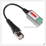1 SteckerCat5 UTP Balun des Kanal CCTV-passiver Video-BNC