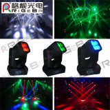 단계 가벼운 DJ는 4*25W RGBW 4in1 LED 반점 광속 이동하는 헤드를 초래한다