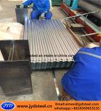 Folha ondulada revestida da telhadura do zinco de alumínio
