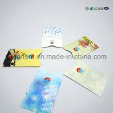 De overweldigende Blokkerende Koker van het Paspoort RFID van de Kaart van de Aluminiumfolie van de Douane Slimme