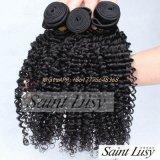 cabelo brasileiro do Virgin da boa qualidade do cabelo da onda da mola 8A da onda Curly de Brasil
