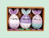 Handgemalte DIY Ei-Dekoration der Kind-für Ostern