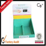 Kundenspezifische Großhandelsqualität gedruckter Schaukarton, Karton-Kasten, Geschenk-Kasten, Papierkasten, Verpackungs-Kasten