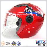 직업적인 스쿠터 또는 모터바이크 또는 기관자전차 열리는 마스크 헬멧 (OP203가)