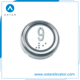 DC24電圧の丸型の上昇の押しボタン(OS43)