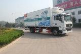 신선한 과일을%s Sinotruk 상표에 의하여 냉장되는 트럭