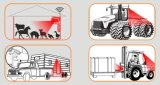 Sistema sin hilos de la cámara del equipo agrícola del alimentador de granja