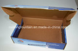 골판지 상자를 인쇄하는 4개의 색깔