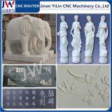 Router rotativo di CNC della pietra di asse per granito di marmo di pietra di ceramica