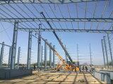Taller de goma ligero prefabricado de la estructura de acero (KXD-SSW1105)