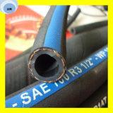 Erstklassige Faser-umsponnener hydraulischer Schlauch des Qualitätssae 100 hochfesten Stahl-R3 zwei (2T/B)