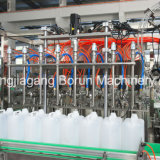 Máquina de engarrafamento plástica do petróleo verde-oliva de frasco de vidro